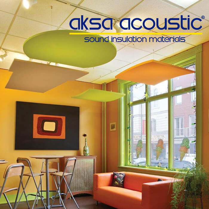acoustic sound absorber panel