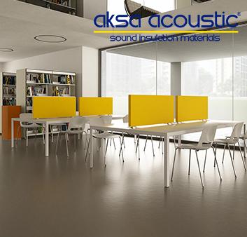 Acoustic Office Arrangement