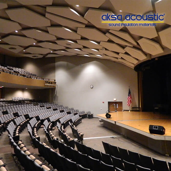 Acoustic Fabric Cover