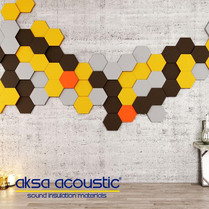 Hexagonal Wall Panel