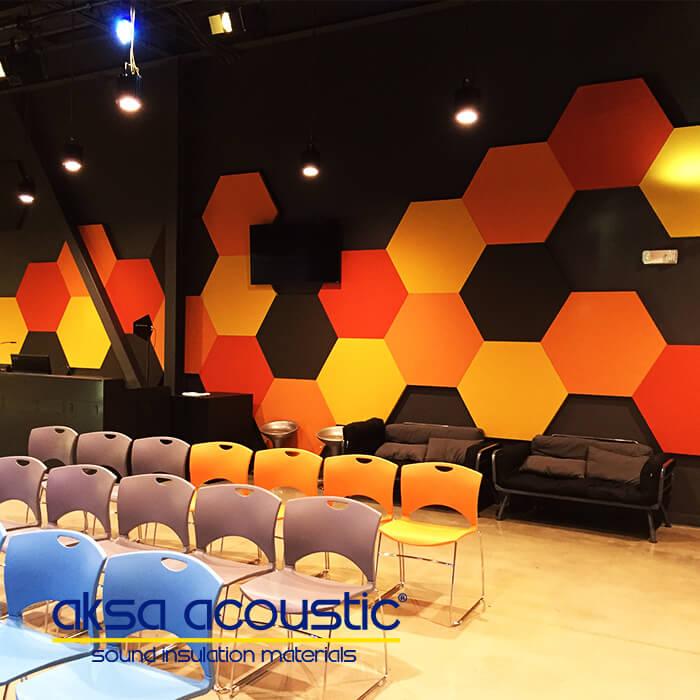 Hexagon Wall Panel
