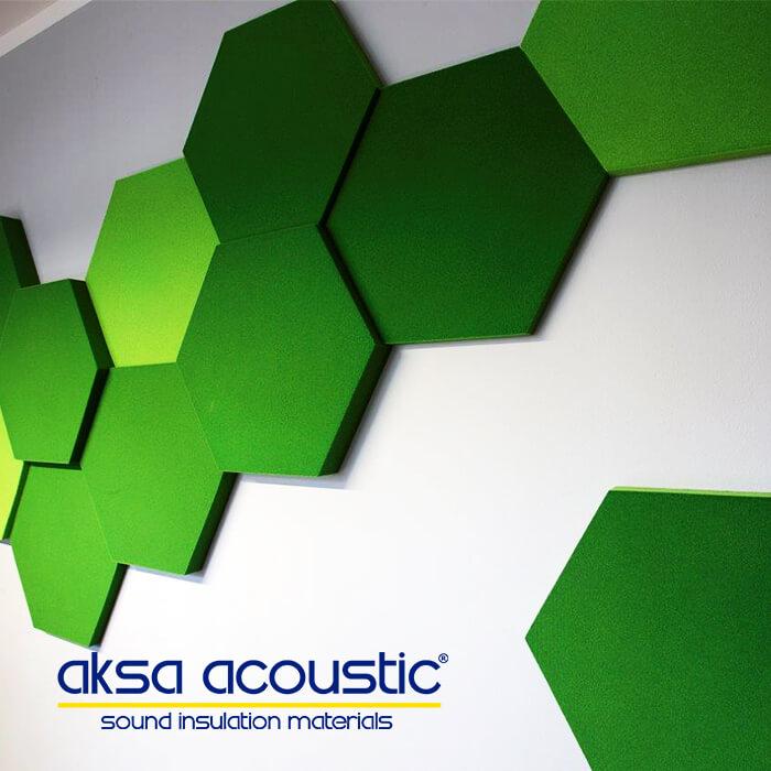 Hexagonal Wall Panels