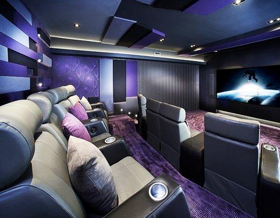 Decorative Cinema Hall