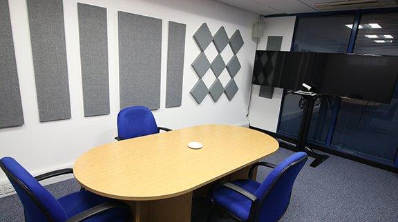 Meeting Room Acoustic Plan