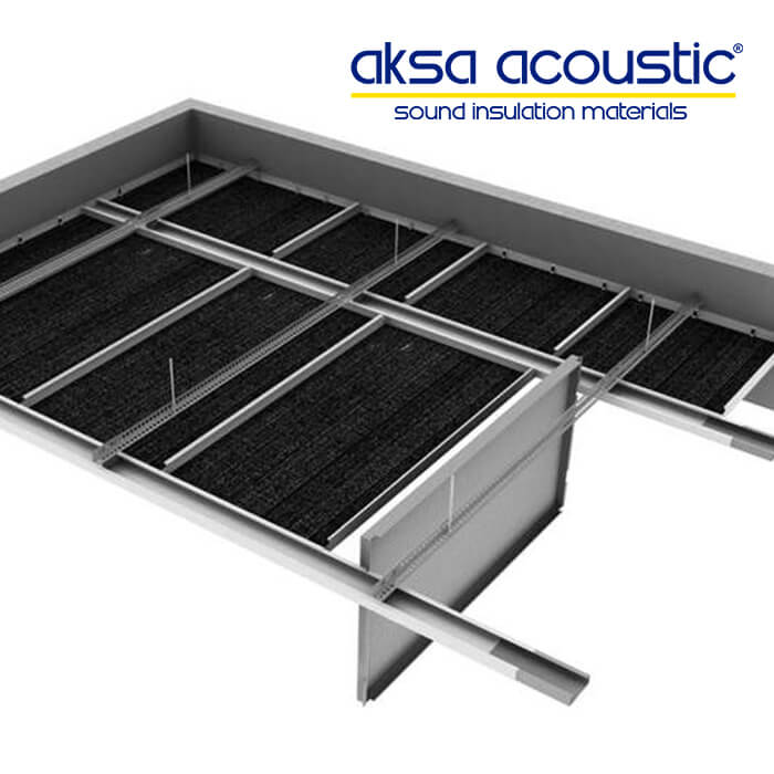 acoustic suspended ceiling
