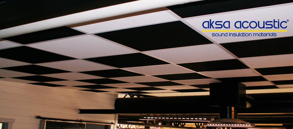 Polo Black Ceiling Tiles