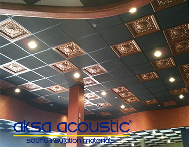 Glass Wool Suspended Ceiling Panels