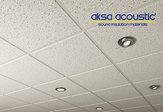 Stone Wool Suspended Ceiling Panel